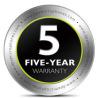 5年保証対象