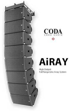 CODA AUDIO AiRAY