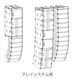 アレイシステム例